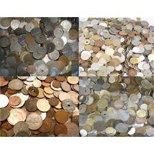 LOT DE 1200 MONNAIES du MONDE à trier environ de 1850 à 2001