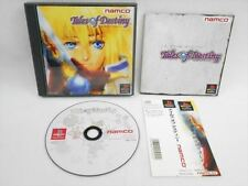 PS1 TALES OF DESTINY with SPINE CARD * Namco Playstation PS JAPAN Video Game p1