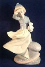 """Duncan Royale figurine, Woman with Jug Looking out to Sea, Nautical, 8-1/4"""""""