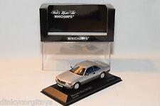 . MINICHAMPS MERCEDES BENZ 560 SEC 560SEC MET. SILVER MINT BOXED RARE SELTEN