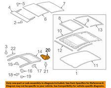 TOYOTA OEM 10-15 Prius Sunroof Moon Roof-Motor 6326047010