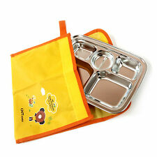 Portable Cover Bag Storage Bags For Convenient Kids Food Tray Keeps Bowl