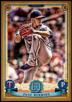 Jose Berrios 2019 Topps Gypsy Queen 5x7 Gold #238 /10 Twins