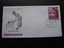 REPUBLIQUE CENTRAFRICAINE - enveloppe 1er jour 27/12/1972 (B4)