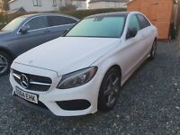 2014 Mercedes-Benz C220 AMG LINE STYLE DIESEL AUTO DAMAGE REPAIRED CAT S W205