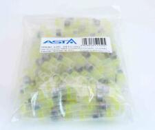100pcs Solder Seal Sleeve Heat Shrink Wire Butt Connectors AGW 12-10 Waterproof