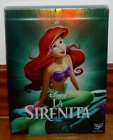 LA SIRENITA DISNEY CLASICO NUMERO 28 DVD NUEVO PRECINTADO SLIPCOVER (SIN ABRIR)