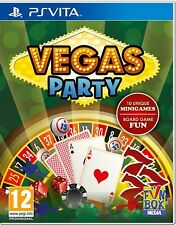Vegas Party PS Vita PlayStation Vita Game | BRAND NEW SEALED, FAST FREE POST