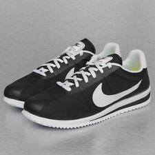 sports shoes c3c96 1acd8 Nike Classic Cortez Noir Blanc Nylon   Daim Baskets - 41