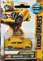 Transformers Bumblebee Diecast Car, VW Beetle, Dickie Toys