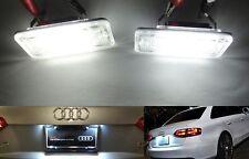 SAMSUNG SMD LED License Plate Light kit No Error Audi A3 S3 8P A4 S4 8E 8H RS4