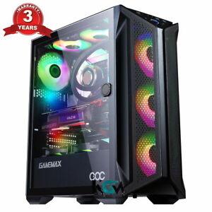Fast Gaming PC Computer Bundle  Quad Core i5 16 GB 1TB Win10 2GB GT710 Speaker