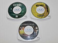 Sony PSP UMD Action Lot / Crash / Kill Bill Volume 1 / Lord of War