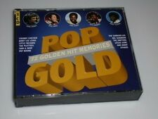 POP GOLD 72 GOLDEN MEMORIES 3 CD´S BIG-BOX MIT SAM COOKE / PAUL ANKA / PAT BOONE
