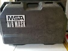 Msa Model 401 Scba Mask Air Mask Tank Self Contained Breathing Apparatus In Case