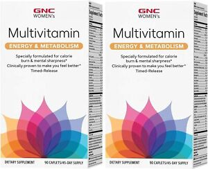 GNC Women's  Energy & Metabolism Multivitamin (90x2 ct.) Exp 11/2022