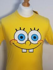 Officially Licensed Sponge Bob Sponge Happy Face T-Shirt Size medium New/Tagged
