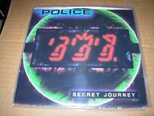 "POLICE secret journey ( rock ) 7"" / 45 picture sleeve - RARE -"