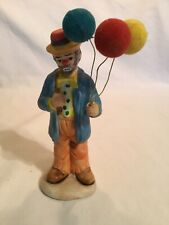 Vintage Emmett Kelly, Jr Porceain Clown w/Balloons, 6�