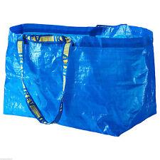 """IKEA Frakta Utility Tote (1) Large 21"""" x 14"""" Shopping Laundry Travel Bag"""
