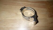 PROBLEM SOLVERS FRONT DERAILLEUR CLAMP, 34.9MM, SILVER, SLIGHLTY USED