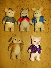 Sylvanian Families Calico Critters PETER RABBIT & FRIENDS Potter Benjamin Lot