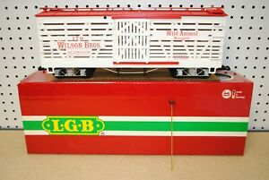 LGB 4068-DG Wilson Bros. Circus Elephant Stock Car *G-Scale* NEW