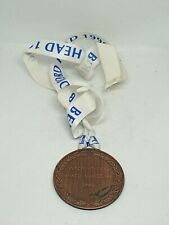 More details for bedford rowing club sbh small boat head medal on ribbon mixed novice 4s 1996