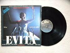 "LP ANDREW LLOYD WEBBER / TIM RICE ""Evita"" VERSION ESPANOL EPIC LSP 15141 SPAIN §"
