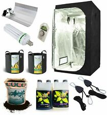 More details for complete grow tent kit grow light indoor hydroponics set up system small 60