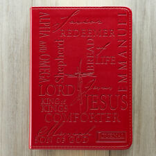 Names of Jesus Burgundy Luxleather Journal by Christian Art Gifts