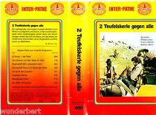 VHS -- 2 Teufelskerle gegen ALLE ( Bratpfanne Kaliber 38 ) (1972) Philippe Leroy