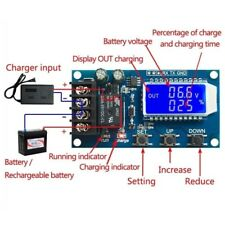 XY-L10A Lithium Battery Charge Controller Protection Board 6-60V LCD Display