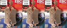 Full Set EBC Sintered Brake Pads for Honda VFR800, CBR1100XX, ST1100 (3x FA261HH