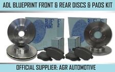 BLUEPRINT FRONT + REAR DISCS AND PADS FOR FIAT GRANDE PUNTO 1.4 2006-10