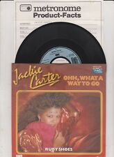"7"" JACKIE CARTER ex SILVER CONVENTION HORNETTES Ohh What A Way To Go ( mint - )"