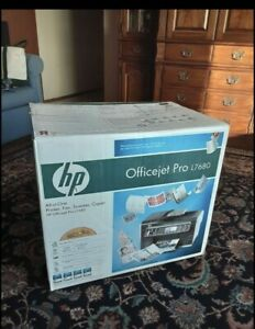 Brand New HP OfficeJet Pro L7680 All-In-One Inkjet Printer Factory Sealed!!