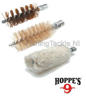 "Hoppe's ""No. 9"" Gun Cleaning Brushes Pistol Shotgun Rifle Nylon Cotton Phosphor"