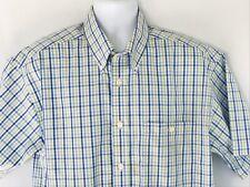 Orvis men's short sleeve casual shirt, Large