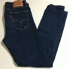 Levi's 510 Skinny Mens Dark Wash Jeans Size 30x30