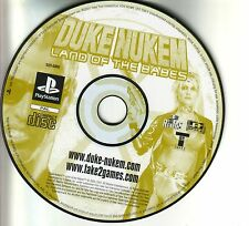 - Duke Nukem-Land of the Babes seulement CD Sony Playstation PS 1 -