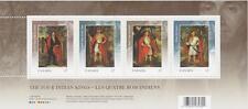 Canada 2010 Souvenir Sheet 2383b - Four Indian Kings