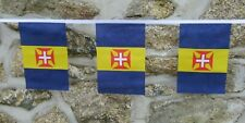 More details for madeira region portugal flag polyester bunting - various lengths