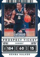 Kemba Walker 2020-21 Contenders Draft Picks Prospect Ticket Variation Card #9