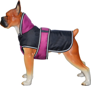 Ontariouk Puppy Dog Coat Jacket Winter Waterproof Pet Clothing Vest Pug Colours