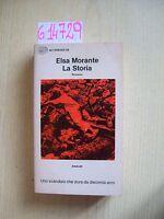 E. MORANTE - LA STORIA - EINAUDI - 1974