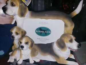 Beagle family Picture frame