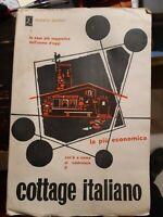 Cottage italiano, Donato Santini, libro d'artista, edizione numerata, RARO