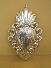 BEAUTIFUL  HOLY EX-VOTO MILAGRO   STERLING SILVER 925 OLD