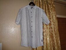 183f103a New No Tags Young Mens Button Front Airwalk Shirt S Small. Air Walk. White